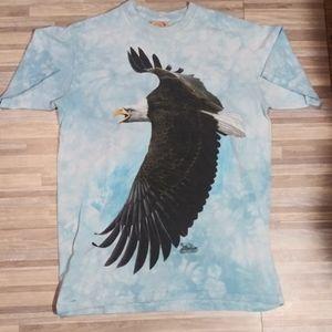 2001 The Mountain Bob Travers Bald Eagle USA Shirt